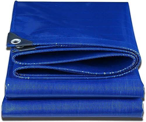 Bache épaissir écran Solaire D'extérieur Multifonctionnel Imperméable Tissu Linoléum Anti-défonceur Plusieurs Tailles Peuvent être Personnalisées GMING (Couleur   Bleu, Taille   4x5M)