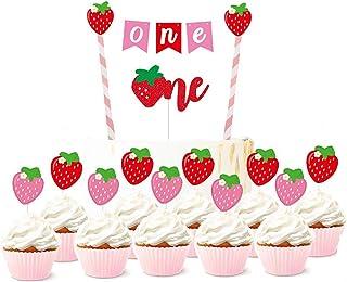 Coxeer 22PCS Cake Topper Decorative Wedding Cake Topper Small Cake Topper for Cake