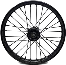 MYK Rim Wheel 1.6x17 inches (2.75x17) for tires 70/100-17 compatible with Tao Tao DB17 and many other models Dirt Bike Pit Bike Honda Suzuki Yamaha