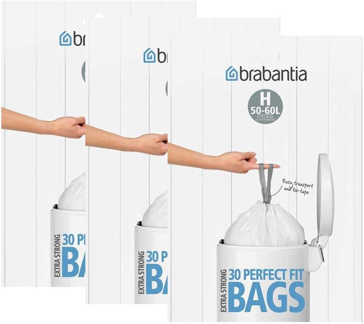 Brabantia Müllbeutel, Größe H, 21   21 l, 21 Beutel 21er Packung