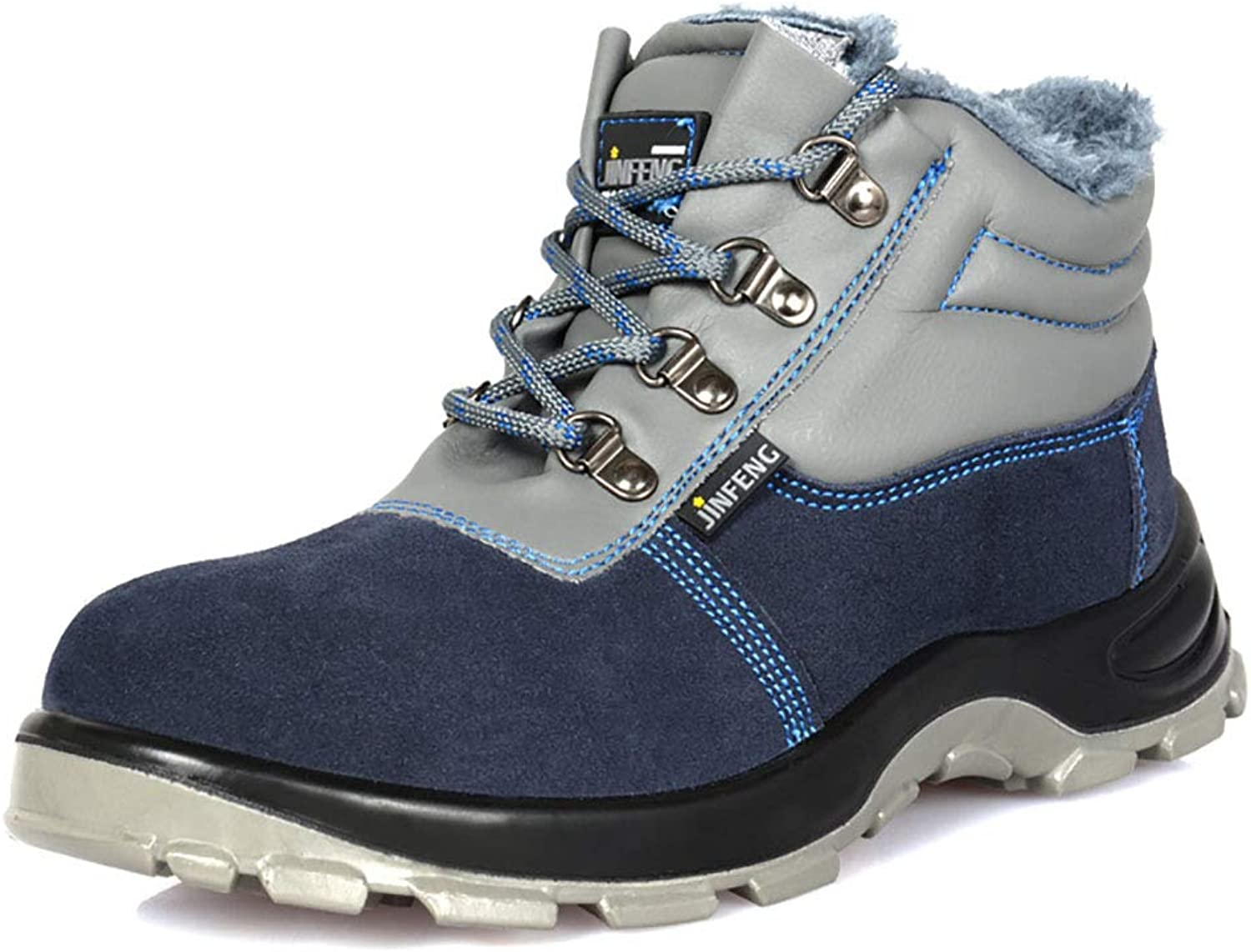 Yxwxz Gym wear for men Men's Waterproof Safety Trainer Ultra Lightweight Steel Toe Cap Work shoes Ankle Hiker on cloud running shoes (Size   39)