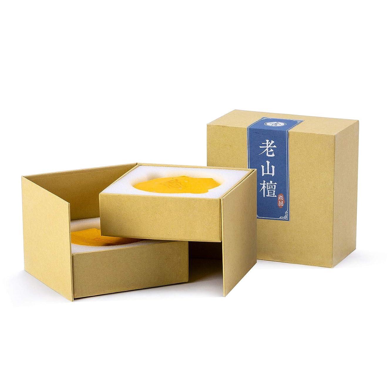 キラウエア山受け皿外観Hwagui お香 上級 渦巻き線香 白檀 瀋香 ヨモギ 優しい香り 2時間 40巻入