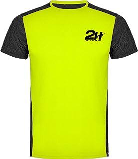Camiseta Hombre técnica de pádel 2H Magnum, XL: Amazon.es ...