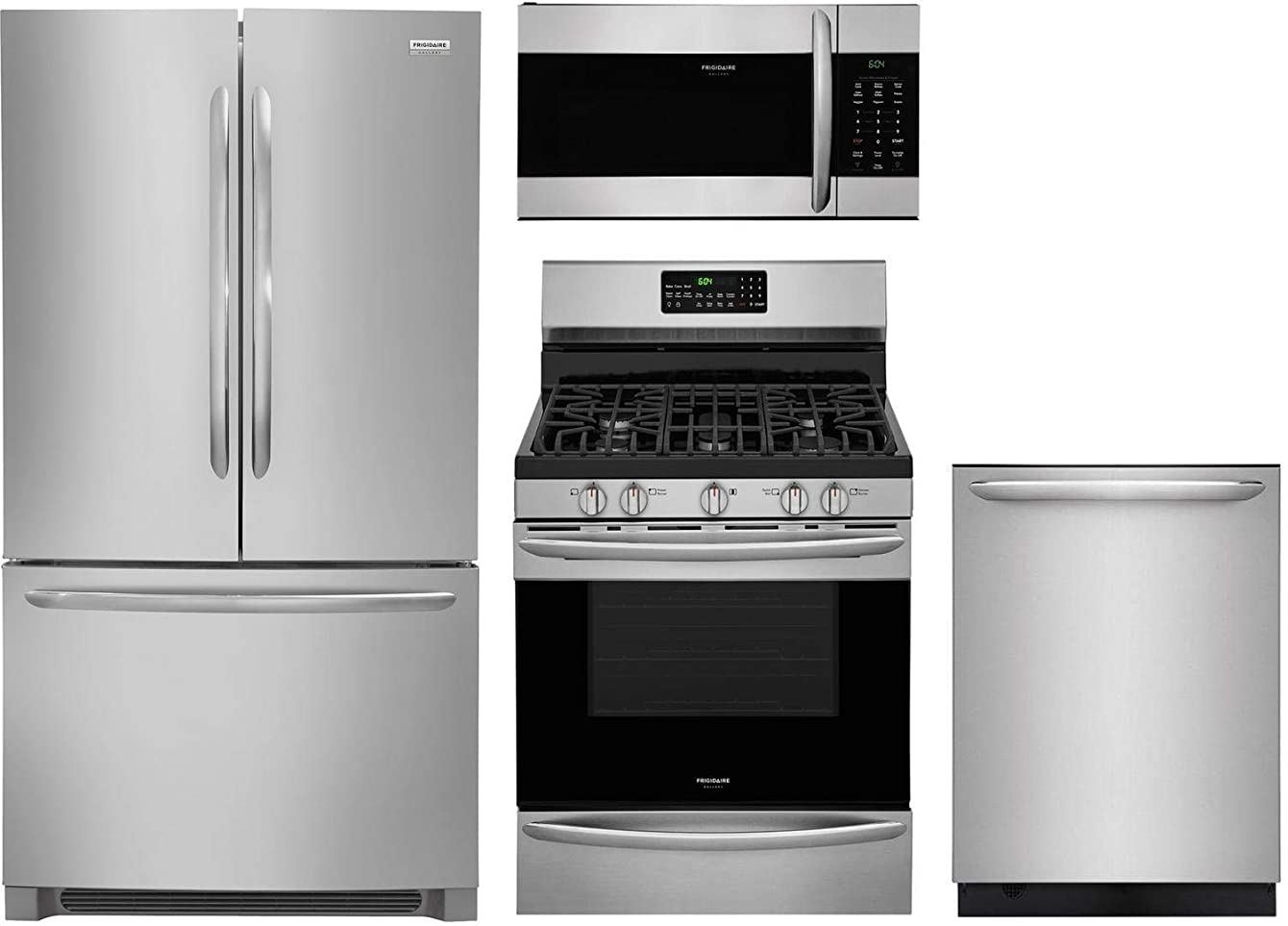 Frigidaire 4 Pcs Kitchen Package with FGHN2868TF 36