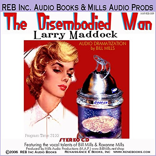 The Disembodied Man audiobook cover art
