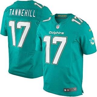 Nike Ryan Tannehill Miami Dolphins Elite Authentic Aqua Stitched Jersey - Men's 48 / XL