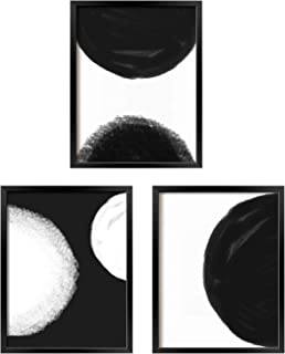 Amazon Com Black And White Wall Art With Frame