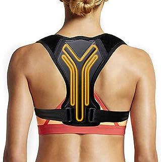 EODNSOFN Redressez le correcteur de posture pour la ceinture arrière empêche la corde d'affaissement de la clavicule (Colo...