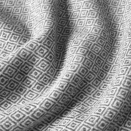 Lorenzo Cana High End Luxus Kaschmir-Decke 100{9445ba46c048b79f010a0f25a2ff1ce2dc805e37ca2c252543b5ef2ce0e22cec} Kaschmir flauschig weiche Wohndecke Decke handgewebt Sofadecke Kaschmirdecke Wolldecke 96175