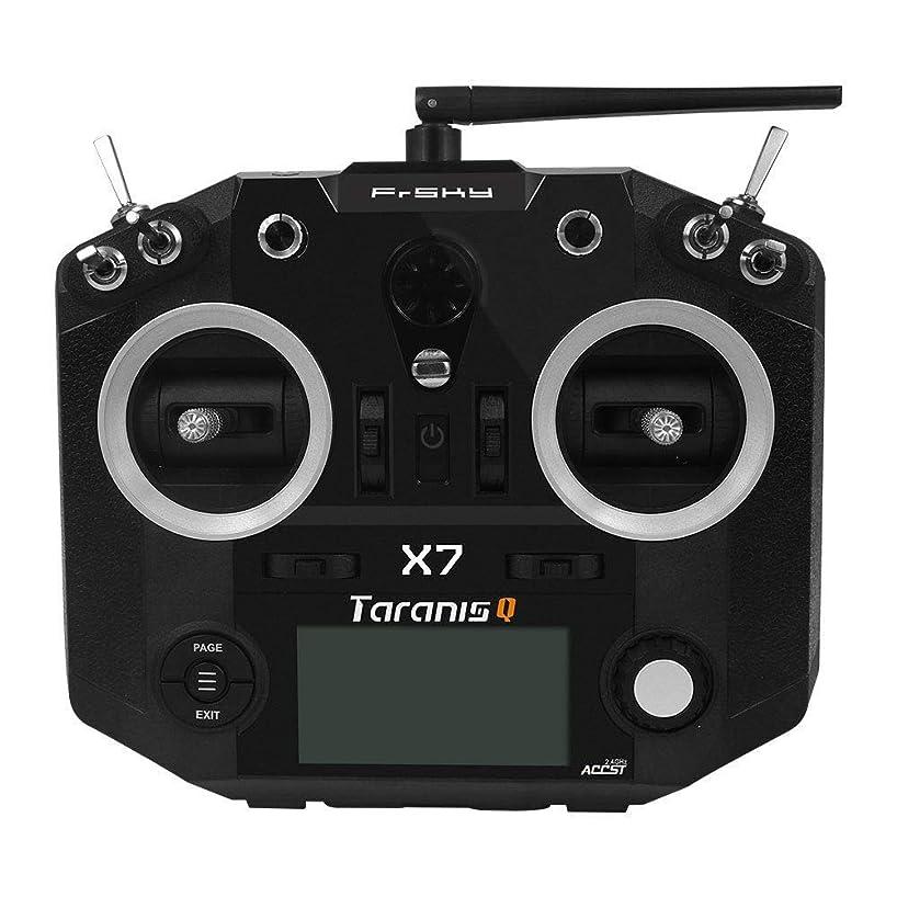 FrSky 2.4G Accst Taranis Q X7 16 Channels Transmitter Remote Controller Black