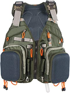 Kylebooker Fly Fishing Vest Pack Adjustable for Men and Women