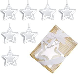 Newbested Pack of 8 Fashioncraft Star Bookmark Favors,Wedding,Baby Shower Favors and Gifts