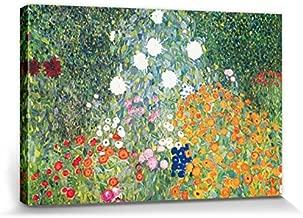1906 Cuadro Foto Poster Print Gustav Klimt-Granja Jardín Con Girasoles