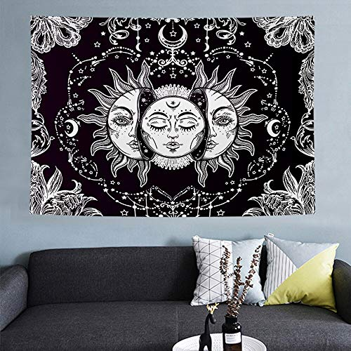 Jigsaw puzzle 1000 piece White black sun and moon mandala jigsaw puzzle 1000 piece scotland Educational Intellectual Decompressing Toy Puzzles Fun Family Game for Kids Adults50x75cm(20x30inch)