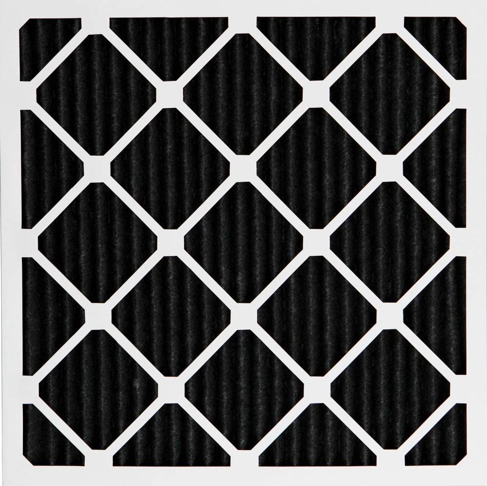 Nordic Pure 24x30x1 MERV 10 Pleated Plus Carbon AC Furnace Air Filters 3 Pack