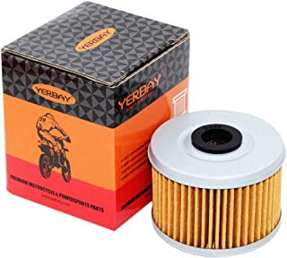 Yerbay Motorcycle Oil Filter for Honda TRX300 TRX 300 Fourtrax 1988-2001 / TRX300EX 1993-2008