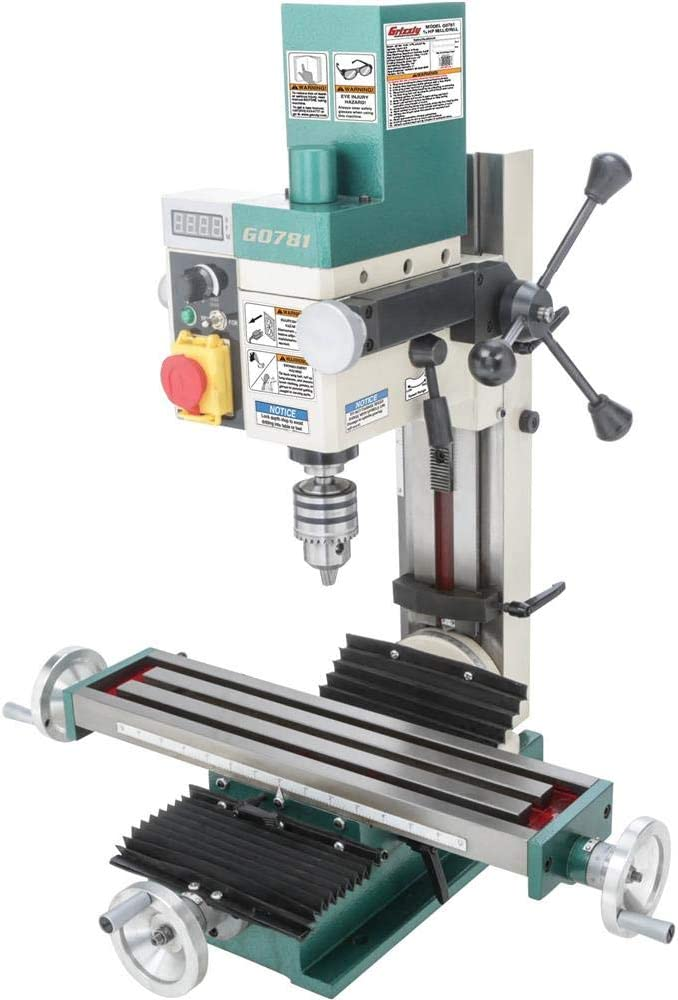 Grizzly Industrial G0781-4″ x 18″ Mill/Drill