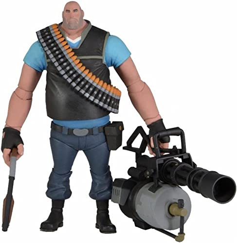 Team Fortress 2 Heavy Blau Ver. 7 Inches
