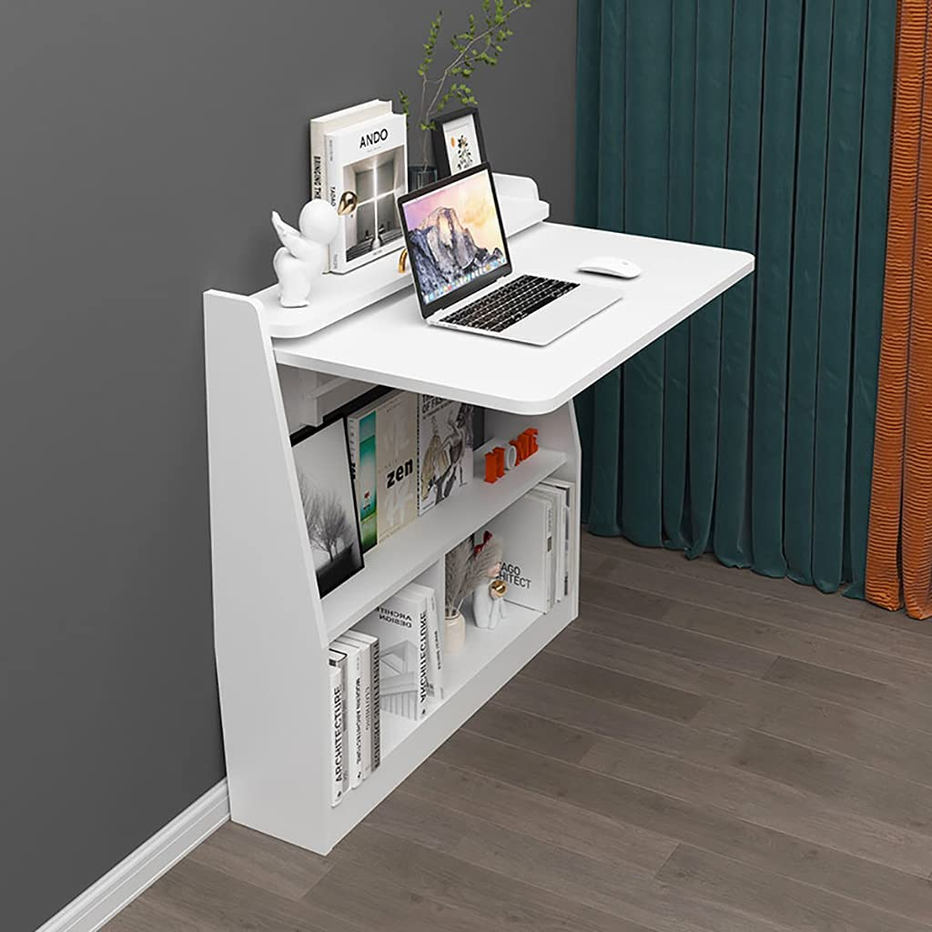 XIAOQIAO Jacksonville Mall Wall Table with Sales for sale Ample Storage Be Folding Desk Space