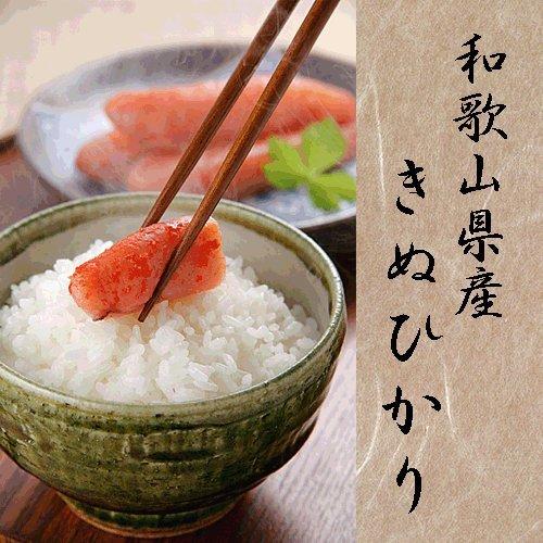 平成30年産 和歌山産 キヌヒカリ 玄米 紀州米 各種サイズ 玄米食不可 (玄米のまま,8kg×3袋)