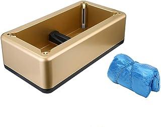 جهاز غطاء الأحذية، جهاز ضخ غطاء الأحذية الأوتوماتيكي رونري مع 200 قطعة من غطاء الحماية القابل للاستعمال مرة واحدة، موزع غط...