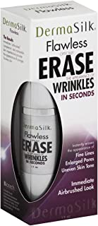 Dermasilk Anti Aging Skin Care Cream, Flawless optically ERASE The Appearance Of Wrinkles In Seconds,IMMEDIATE Airbrushed Look instantly erases The appearance of FINE LINES, UNEVEN SKIN TONE