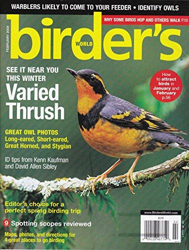 Birder's World Magazine February 2009