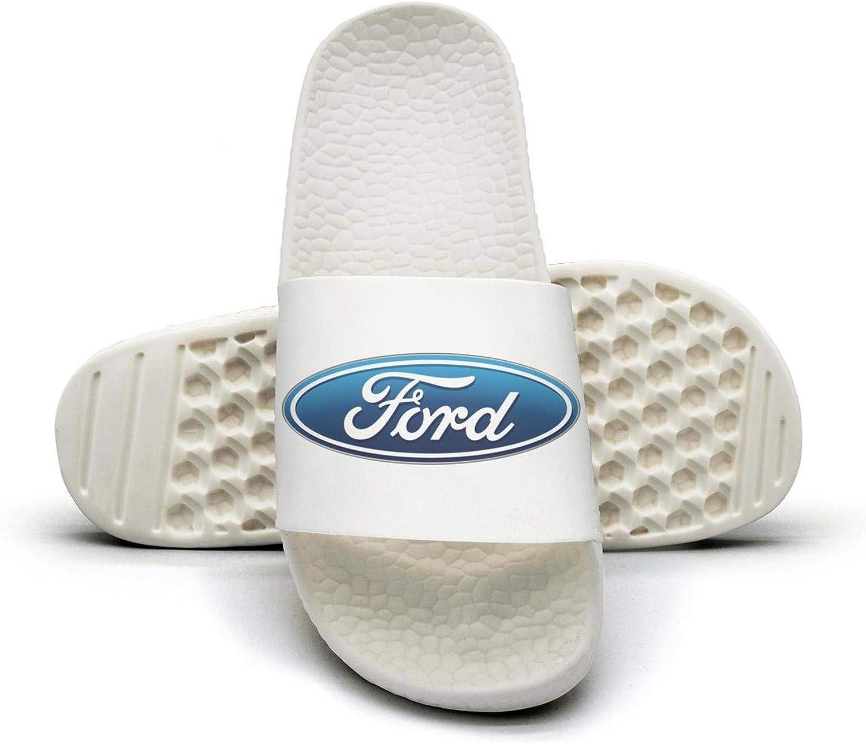 EIGKASL Printed Non-Slip Slipper Slides flip Flop Sandals Ford-Symbol-Logo-Summer Fashion for Womens