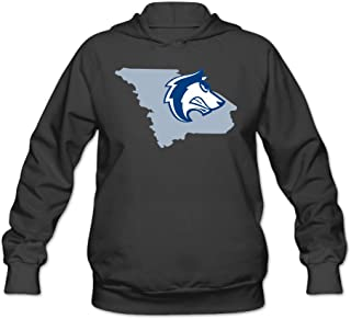 CYANY CSU Colorado State University Pueblo T Wolves Rep Your State Women's Latest Hoodies Sweater Black