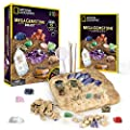 NATIONAL GEOGRAPHIC Mega Gemstone Dig Kit – Dig Up 15 Real Gems, STEM Science & Educational Toys make Great Kids Activities from Discover with Dr. Cool