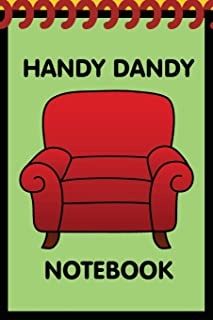 Handy Dandy Notebook: Kids little 6x9 inch notebook for drawing and detective clues with 120 sheets
