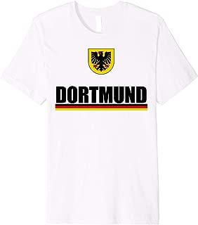 Dortmund Germany Souvenirs Wappen Coat Of Arms Deutschland Premium T-Shirt