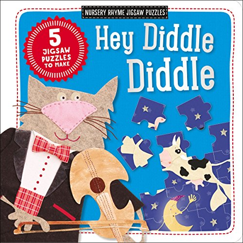 Nursery Rhyme Jigsaw Puzzles: Hey Diddle Diddle (Kate Toms Jigsaw Book)