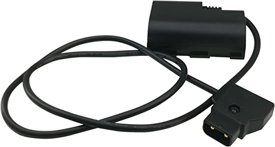 ANDYCINE D-Tap LP-E6 Dummy Battery Adapter Compatible with Canon EOS 5...