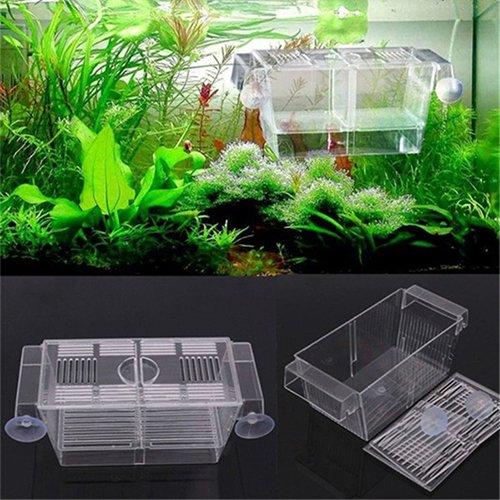 Homeofying Guppy-Fischbrutplatz, Trennbox für Aquarien, zweiteilig