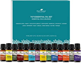 Plant Therapy 7 & 7 Essential Oilss Set 7 Single Oils: Lavender, Peppermint & More, 7 Synergy Blends 100% Pure, Undiluted,...