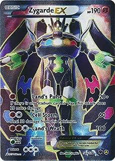 Pokemon Zygarde EX 54a/124