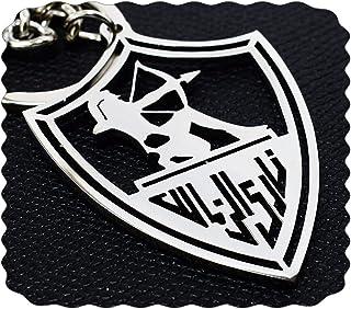 ميدالية مفاتيح نادى الزمالك من الفولاذ المقاوم للصدأ
