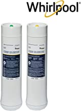 Whirlpool WHEEDF Dual Stage Replacement Pre/Post Water Filters   Fits WHADUS5 & WHED20 Filtration Systems   1 Set