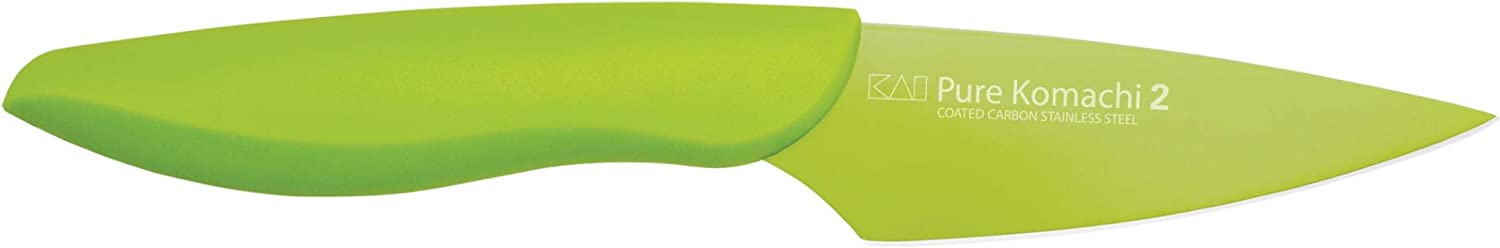 KAI Max 51% OFF Pure Komachi 2 Green Knife Inch Paring Safety and trust 3.5