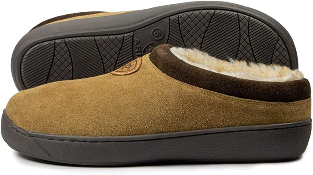 ARIAT Men's Genuine Suede Inexpensive Indoor Cosy Outsoles Los Angeles Mall Rubber Outdoor