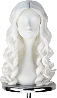 long blonde cosplay wig