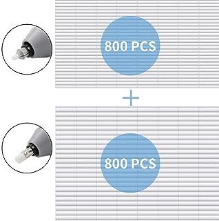AFMAT Electric Eraser Refill Pack, 1600 PCS-2.4mm Erasers Refil(800 pcs)+5mm Erasers Refill(800 pcs), Replacement Erasers for Sketching and Drawing Electric Erasers