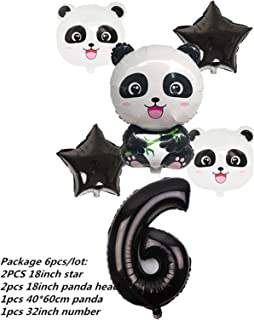 Party Tableware Cartoon Panda Theme Birthday Party Decorations Kids Tableware Set Plate Napkins Cup Baby Shower Party Supp...