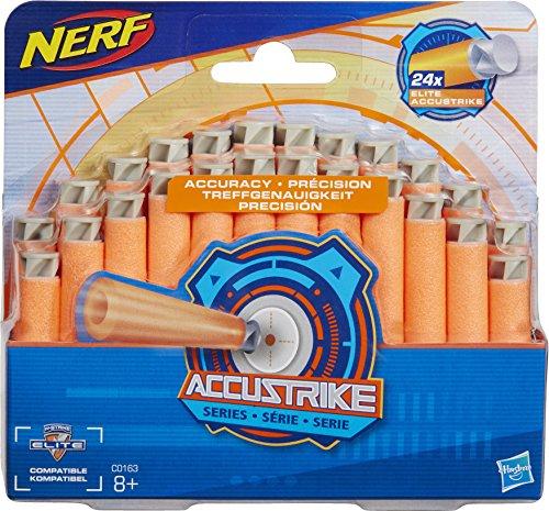 Hasbro Nerf N-Strike C0163 Accustrike Strzałki 24szt