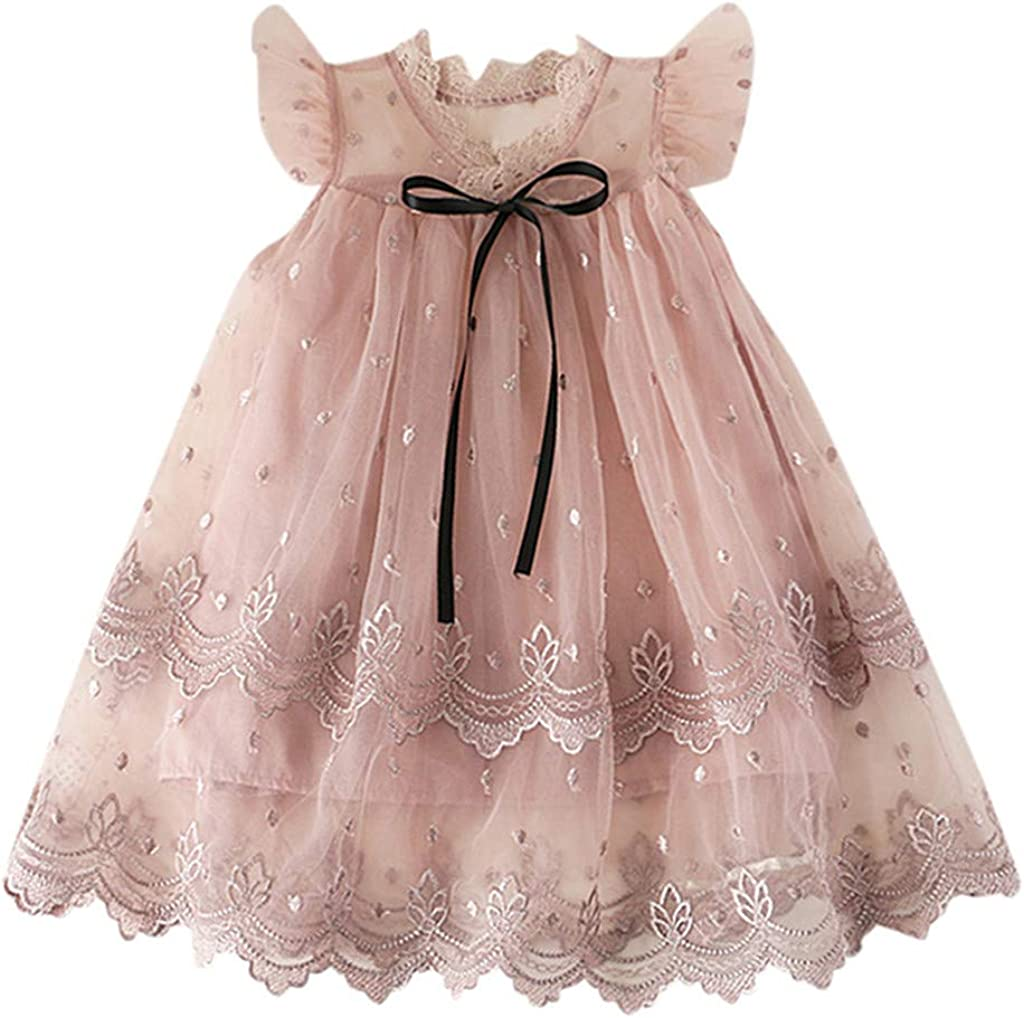 Flower Girl Dress Kids Princess Wedding Pageant Gown Formal Tulle Tutu Dresses