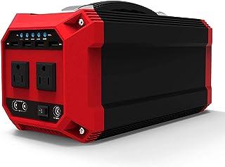 LILIS Generador Portátil Generador Inverter 270WH / 73000MAH Generador solar sinusoidal puro Generador de emergencia Paquete de batería de la batería 300W AC OUTLET USB y puerto DC para acampar al air