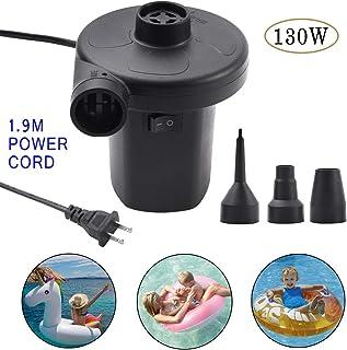 Lihebcen Electric Air Pump Air Mattress, Portable Pump for Air Mattress Inflatable Airbed Boats Swimming Ring