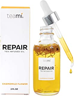 Teami Repair Jojoba Face Oil - with Coconut Oil, Camellia Seed, and Vitamin E (2oz)