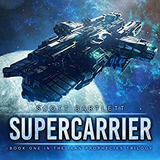 Supercarrier audiobook cover art